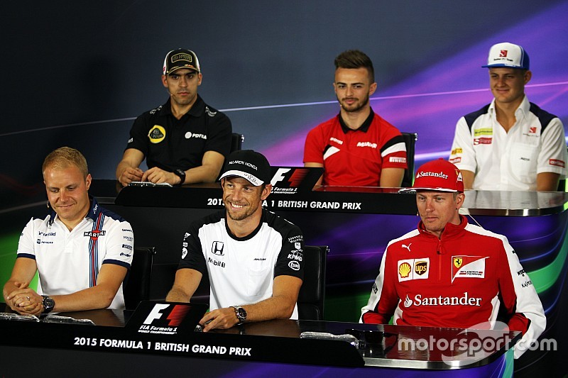 British GP: Thursday's press conference