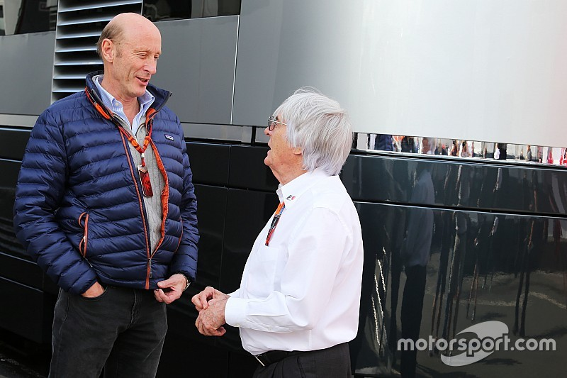 Ecclestone hints at deal to buy F1 back
