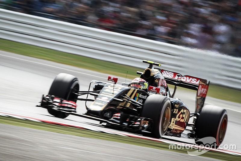 Un incidente ajeno eliminó a Maldonado