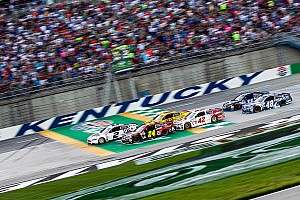 NASCAR Sprint Cup Analysis Could it be time for a repave at Kentucky Speedway?
