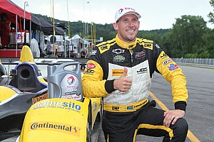 IMSA Qualifying report Simpson dodges rain to qualify on the Lime Rock pole