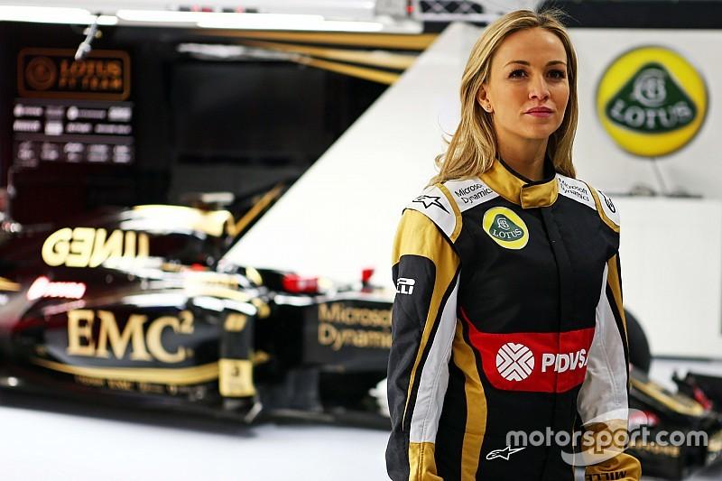 Carmen Jorda se irrita com críticas de ex-piloto de rali
