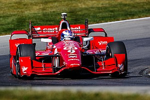 IndyCar Practice report Dixon stays on top at Mid-Ohio