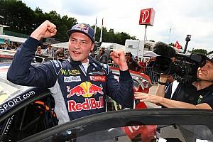 رالي كروس تقرير السباق جيني يصبح أول فرنسيّ يفوز بأحد سباقات رالي كروس العالمي