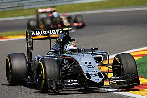 Sahara Force India scored ten points on the Belgian GP