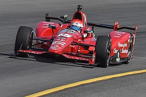Rahal loses ground in title fight after crash, attacks Vautier's driving