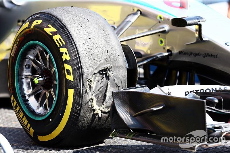 Pirelli arriesgó a los problemas