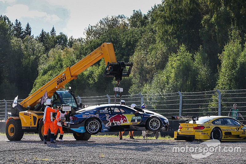 """""""You idiot"""": Glock rails at Ekstrom after race incident"""