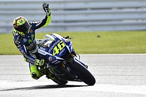 Rossi secures superb victory at soaking Silverstone