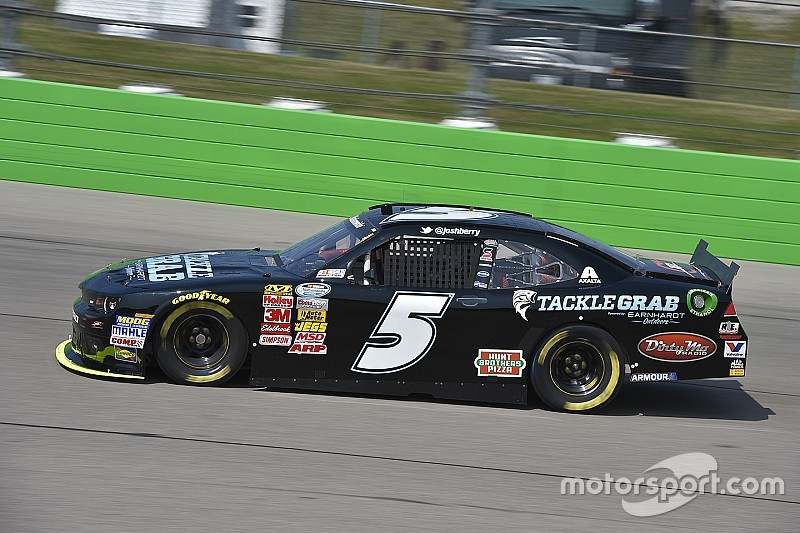 Josh Berry gets another shot with JR Motorsports