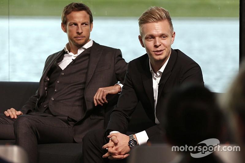 """Magnussen diz que relação de camaradagem com Button é """"rara"""""""