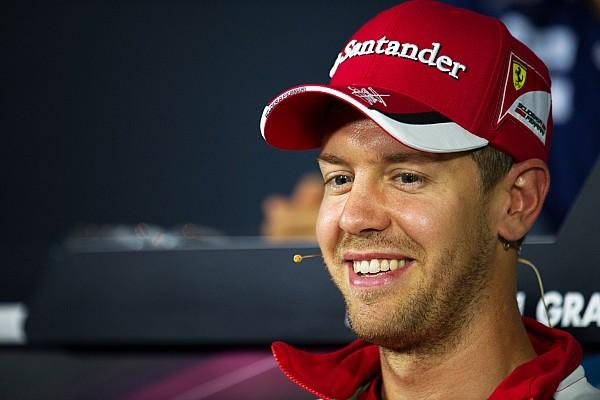 Vettel brinca sobre Monza: