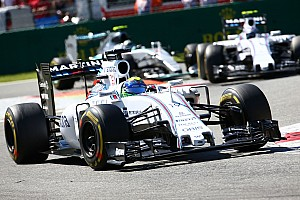 Formula 1 Race report Williams' Massa claimed his second podium of the season in Monza