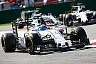 Williams' Massa claimed his second podium of the season in Monza