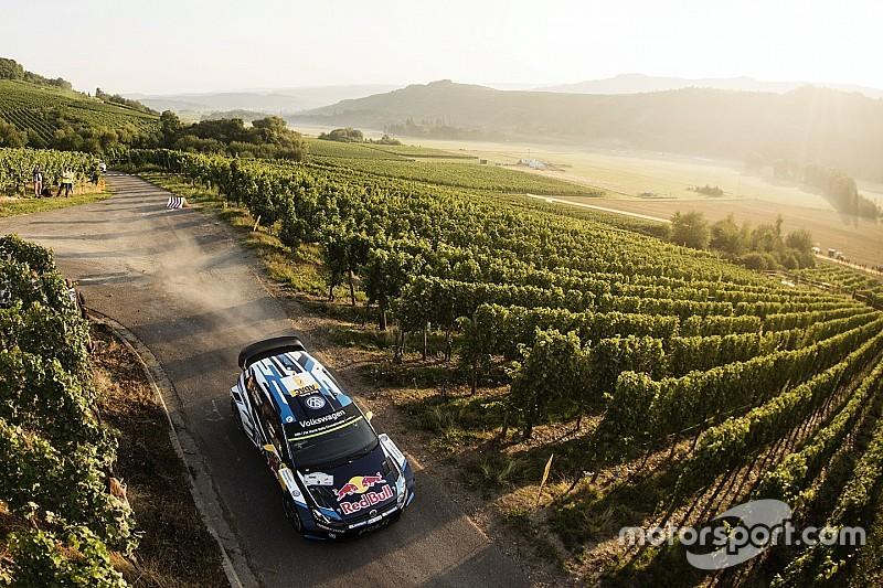 WRC德国站首日 大众主场包揽前三名