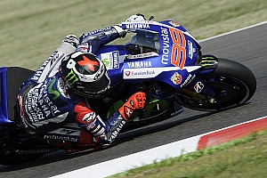 MotoGP Qualifying report Misano MotoGP: Lorenzo takes pole from Marquez and Rossi