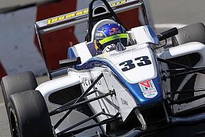 Harrison Newey picks up first win in single-seaters