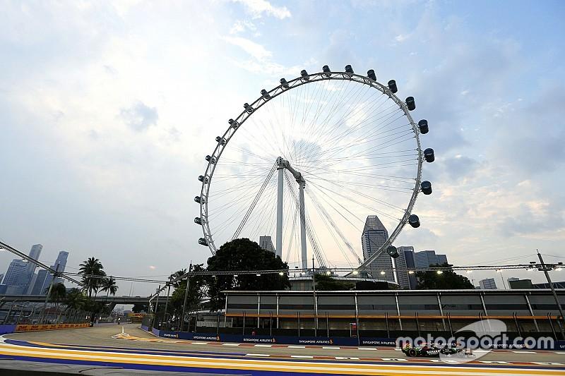 Haze situation worsens ahead of Singapore GP