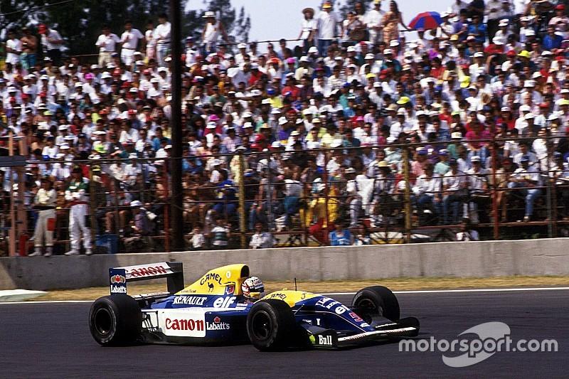 Autódromo do México batiza última curva em homenagem a Mansell