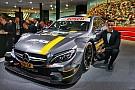 Mercedes presentó en Frankfurt su auto del DTM para 2016