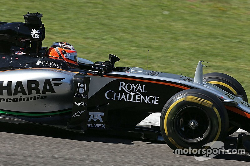Hulkenberg piensa que Force India puede vencer a Williams