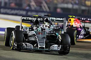Formula 1 Race report P4 for Rosberg and a DNF for Hamilton to end a difficult weekend in Singapore