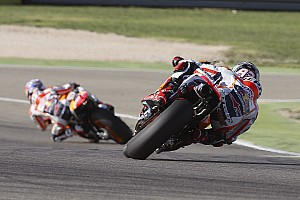 MotoGP Practice report Constructive first day in Aragon for Pedrosa and Marquez