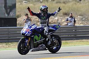 "MotoGP Breaking news Lorenzo says overhauling Rossi now ""realistic"""