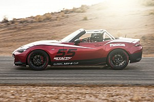 Road racing Breaking news Mazda prices new 2016 Global MX-5 Miata race car at $53,000