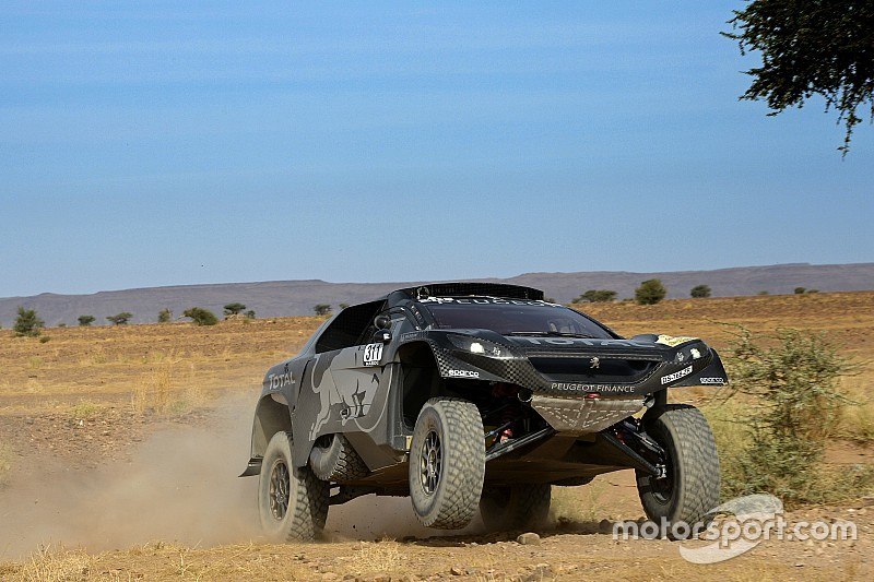 Sainz quickest on Day 2, moves into Rally Morocco lead
