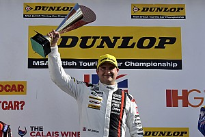 BTCC Race report Brands Hatch BTCC: Jackson wins as Plato closes on Shedden