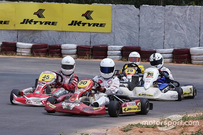 Donison, Gowda and Mohsin crowned karting champions