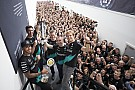 Wolff: No room for complacency, as Mercedes celebrates F1 title