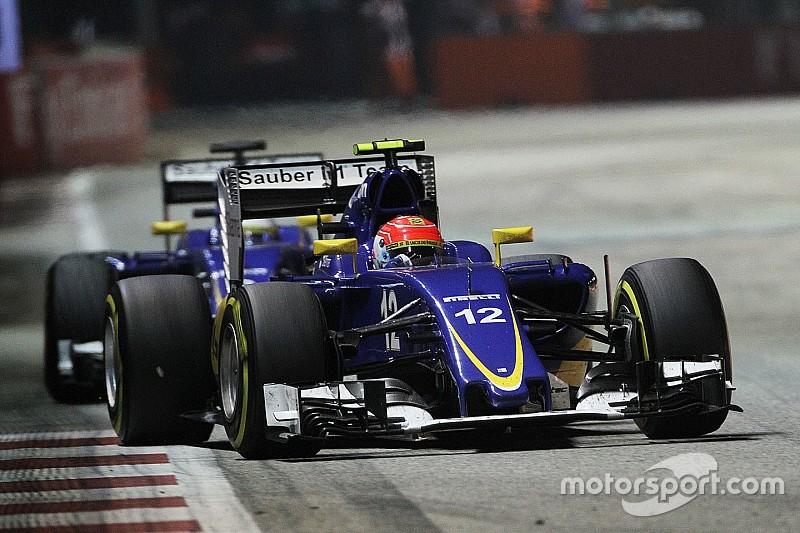 فريق ساوبر يحتفل بسباقه الـ400 في الفورمولا واحد من بوابة أوستن