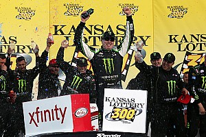 NASCAR XFINITY Race report Kyle Busch scores 75th career Xfinity win at Kansas