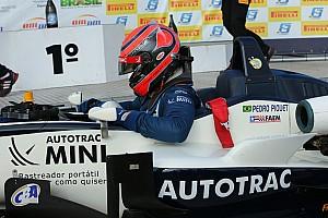 Fórmula 3 Brasil Relato da corrida Mesmo com esforço de Baptista, Piquet vence 11ª seguida