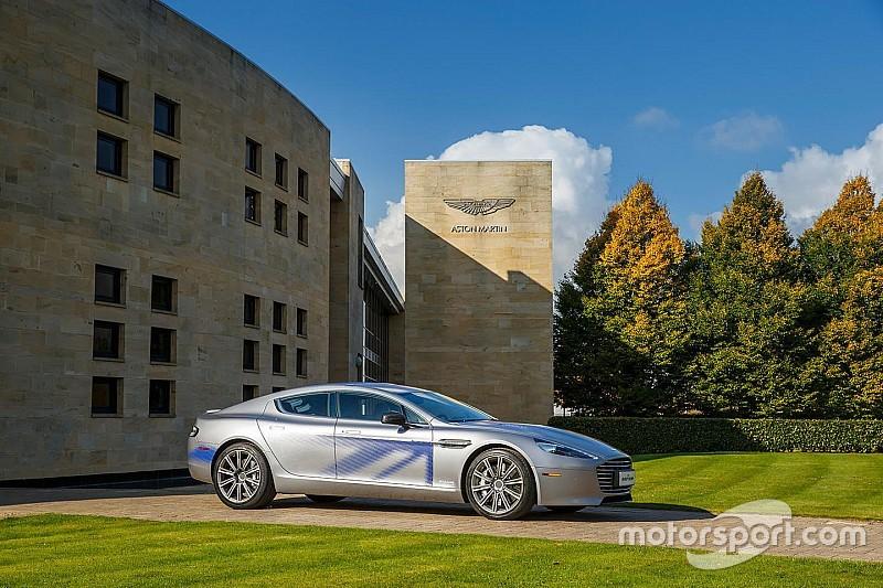 Topmodel elektrische Aston Martin RapidE krijgt 1000 pk