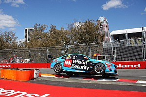 V8 Supercars Qualifying report Gold Coast V8s: McLaughlin storms to Sunday pole