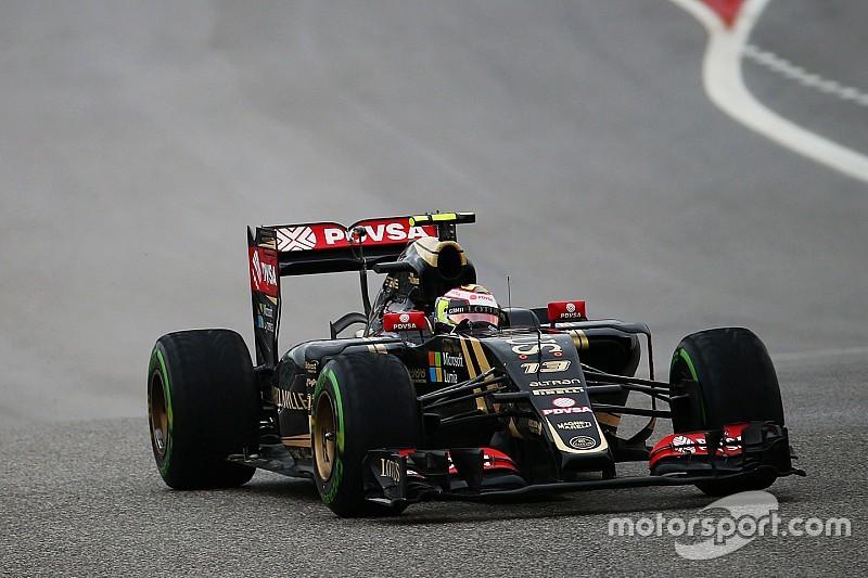 Pastor Maldonado logró la octava posición