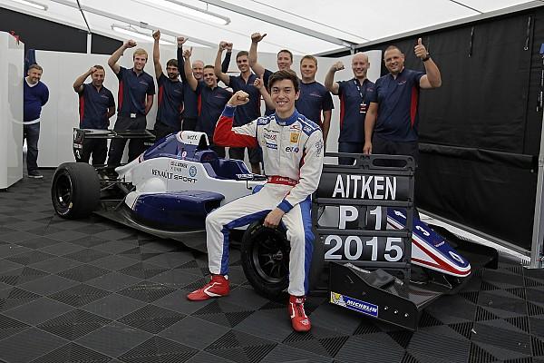 Formula Renault Breaking news Eurocup champion Aitken considering F3.5, GP3 for 2016