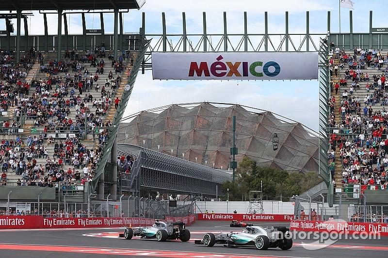 VT2: Crash Max Verstappen, Rosberg snelste in Mexico