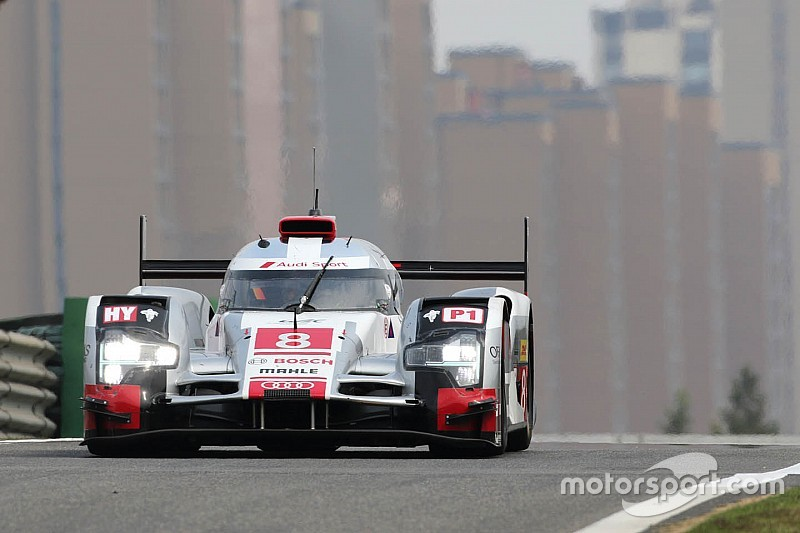 Audi on second row at Shanghai