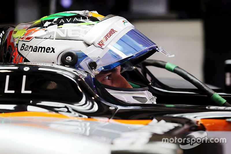 Perez ready to gamble it all for home podium finish