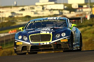 Blancpain Sprint Breaking news Bentley Motorsport confirms drivers for 2016