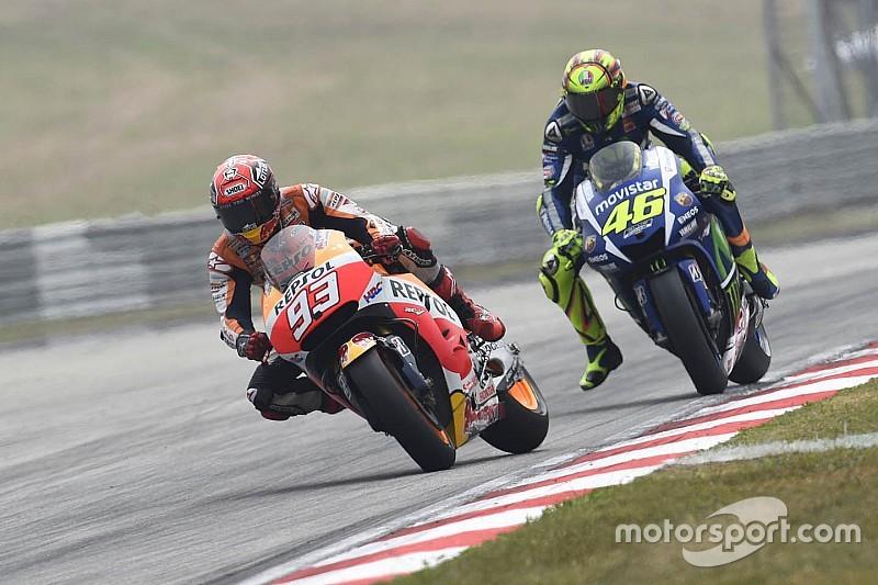 Marc Márquez está dispuesto a darle la mano a Valentino Rossi