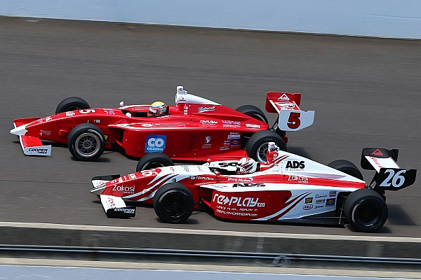 Indy Lights Breaking news Veach returns to Indy Lights with Belardi
