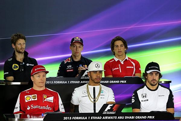 Formula 1 Abu Dhabi GP: Thursday's press conference