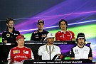 Abu Dhabi GP: Thursday's press conference