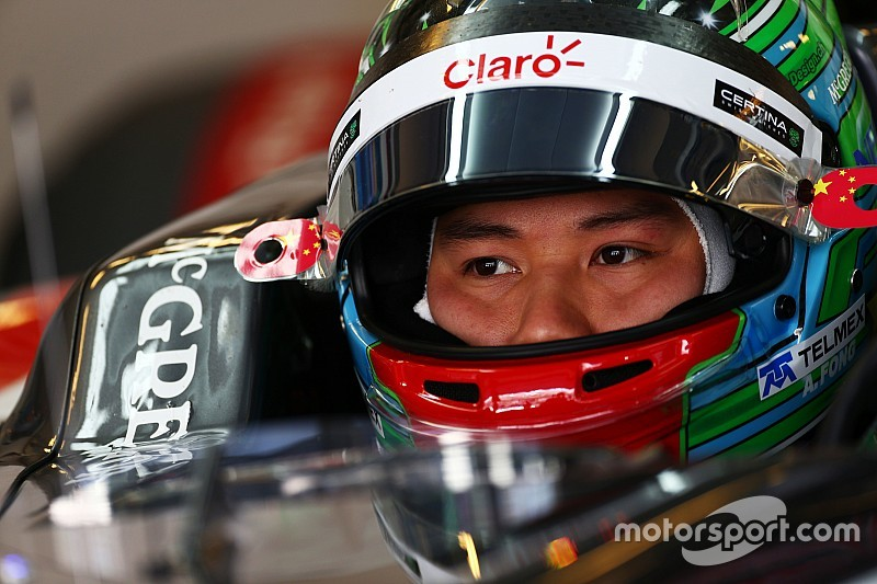 方骏宇将代表索伯车队参加倍耐力测试