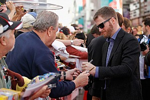 NASCAR Sprint Cup Breaking news Dale  Jr. named NASCAR Most Popular Driver for 13th straight year